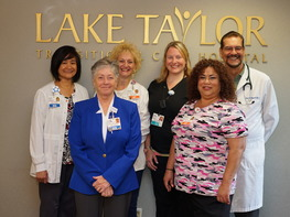Lake Taylor Transitional Care Hospital Staff